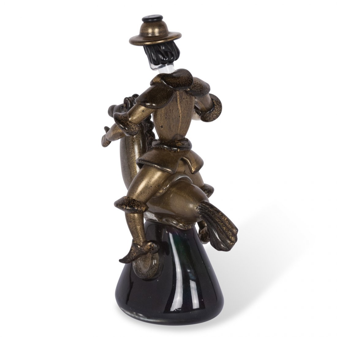 Barovier Mounted Glass Figure - 6
