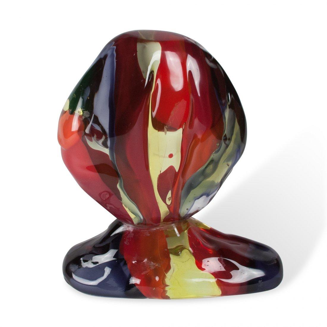 Luciano Gaspari Glass Sculpture (Repaired) - 3