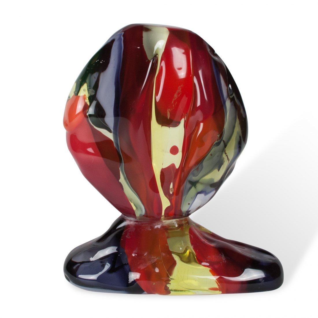 Luciano Gaspari Glass Sculpture (Repaired) - 4