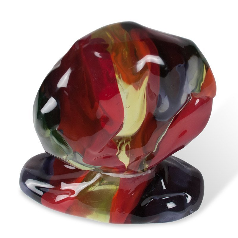 Luciano Gaspari Glass Sculpture (Repaired) - 8