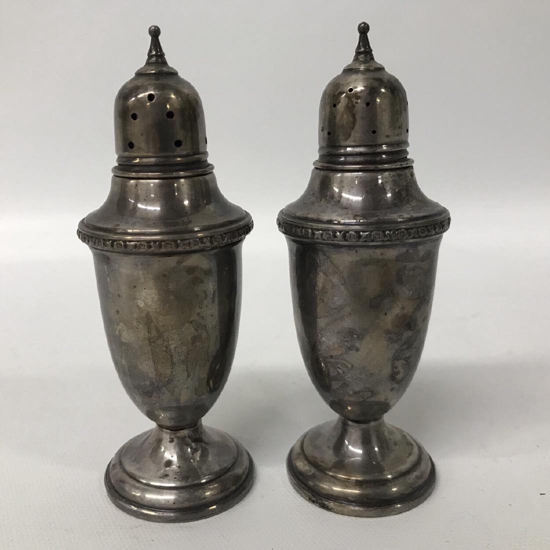 Arrowsmith Sterling Silver Salt and Pepper Shakers,
