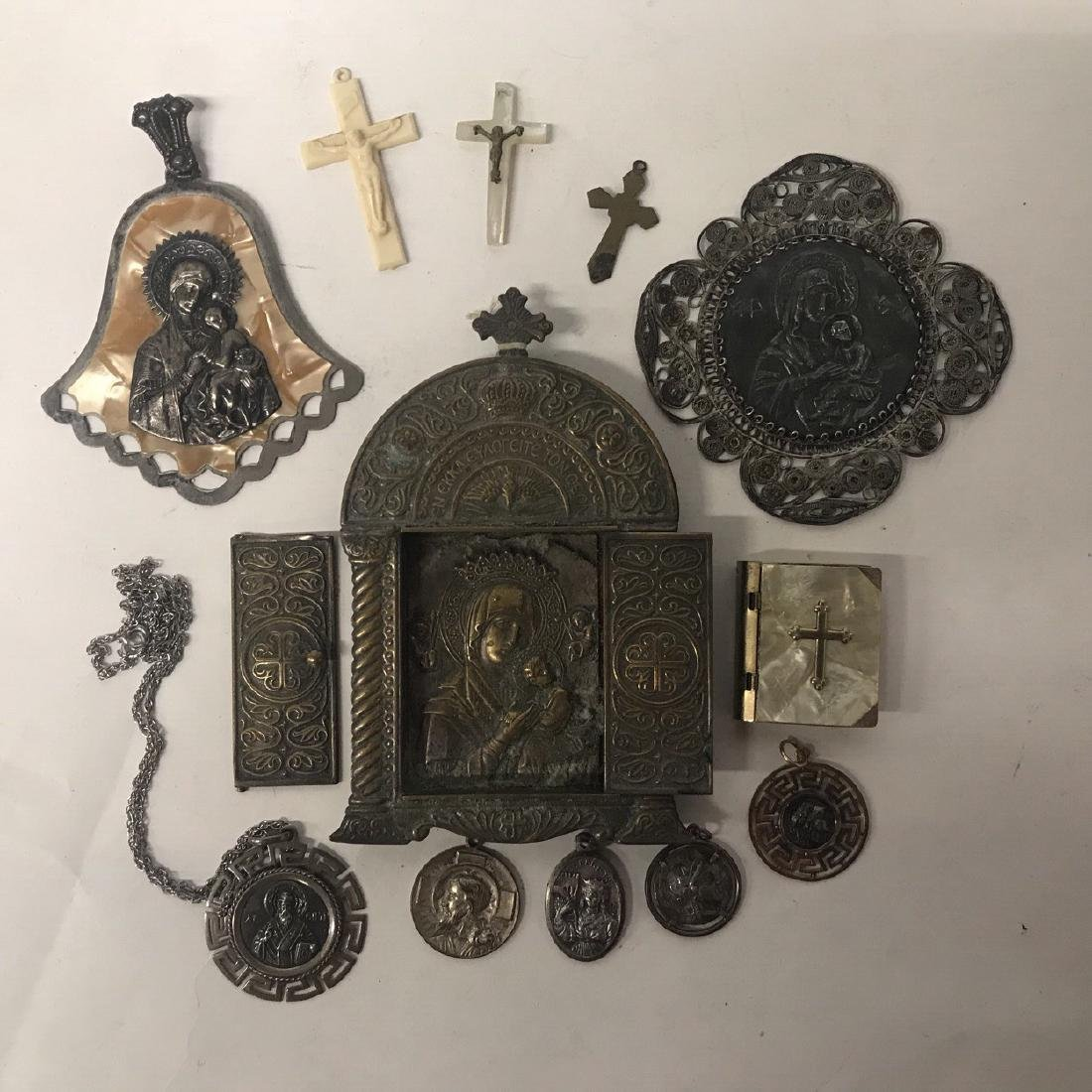 Religious Artifacts, Icon and some Silver Items