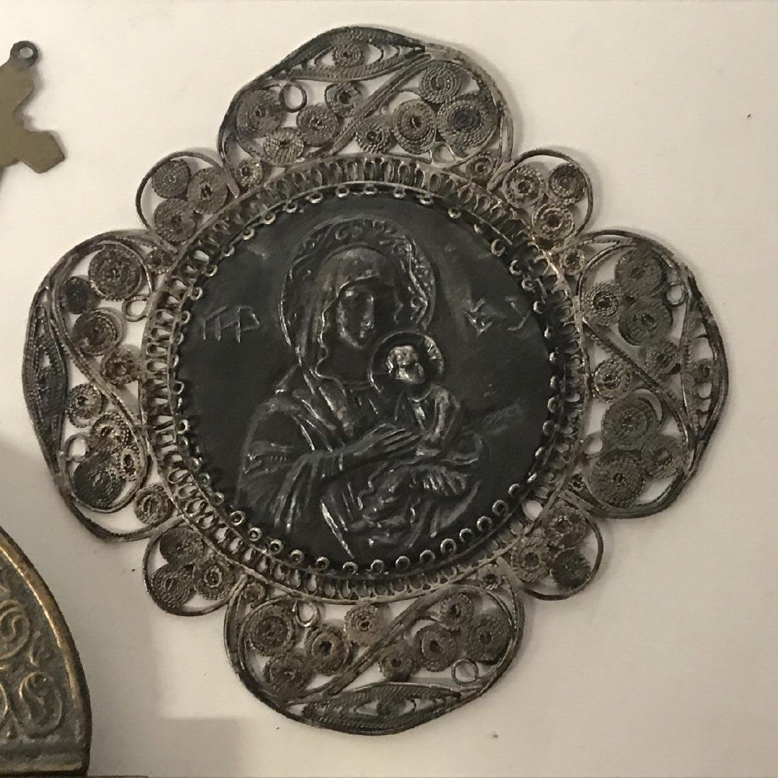 Religious Artifacts, Icon and some Silver Items - 4