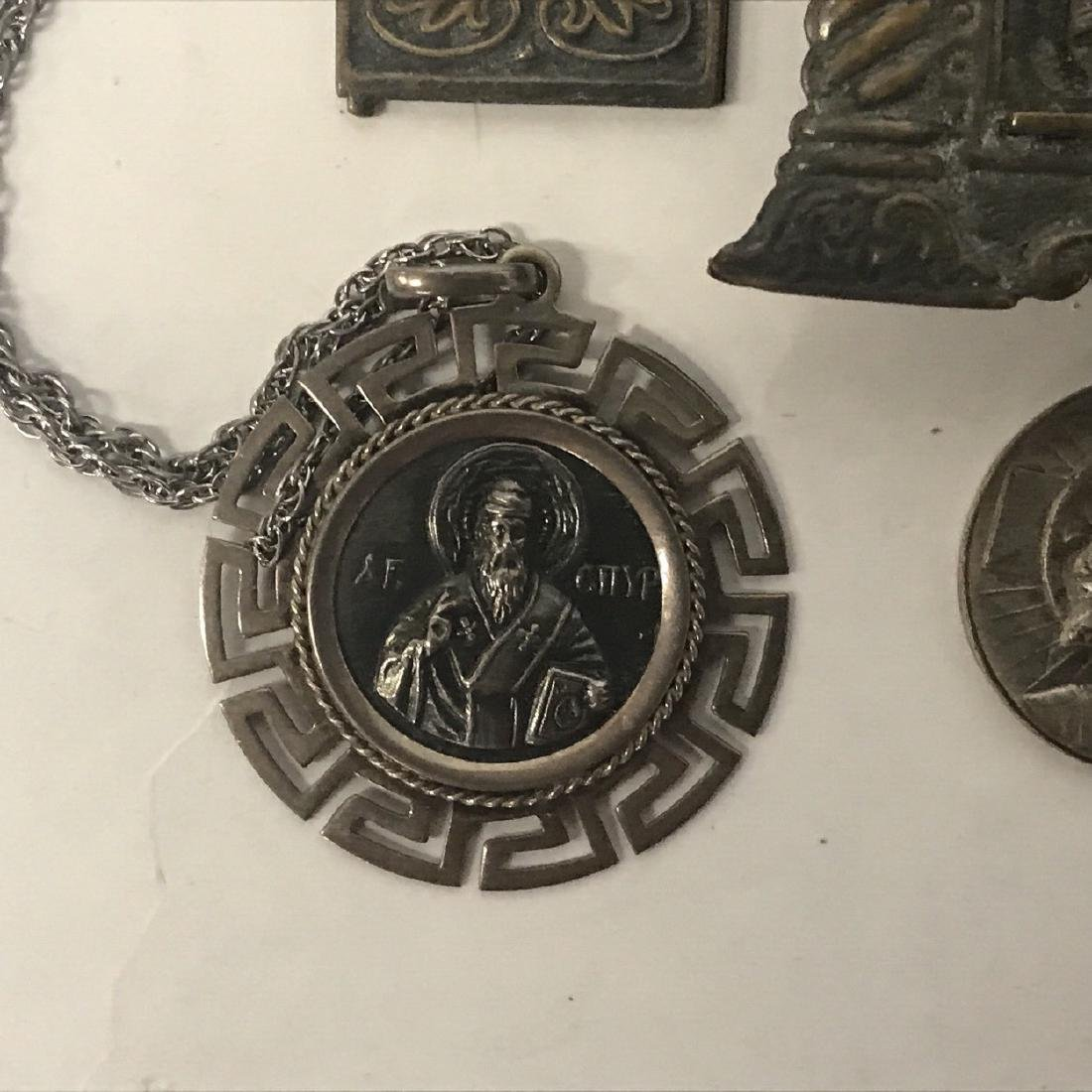 Religious Artifacts, Icon and some Silver Items - 5