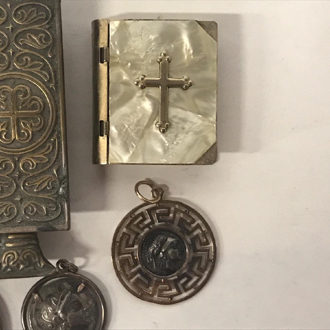 Religious Artifacts, Icon and some Silver Items - 7