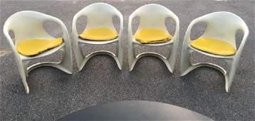 Set of 4  Alexander Begge Casalino Chairs