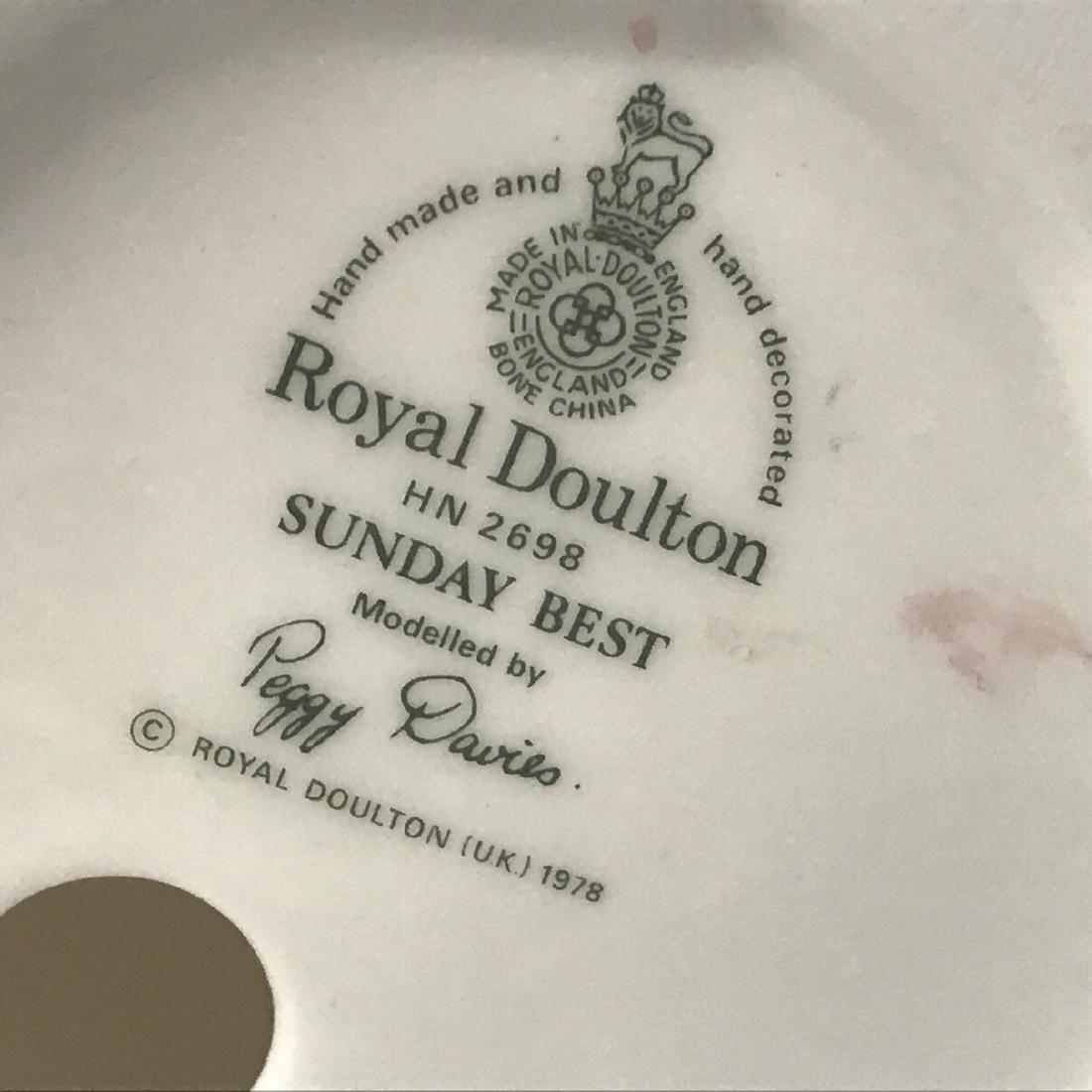 Sunday Best Royal Doulton Figurine - 6