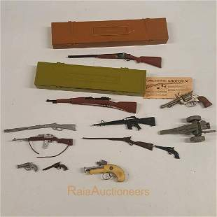 MARX Toy Guns, Gun cases and other weapons, Cannon
