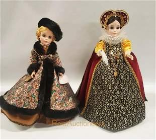 MADAME ALEXANDER Mary Queen of Scots, Natasha Dolls