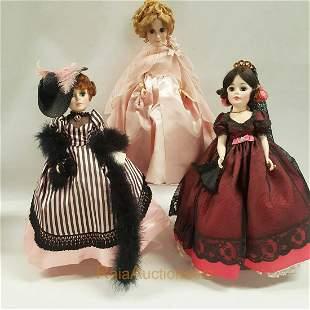 MADAME ALEXANDER  Toulouse Lautrec, Goya dolls
