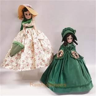 MADAME ALEXANDER Scarlett Dolls