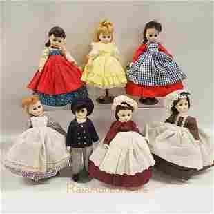 MADAME ALEXANDER Little Women Jo Amy vintage Dolls