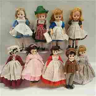 MADAME ALEXANDER Little Women, Heidi vintage Dolls