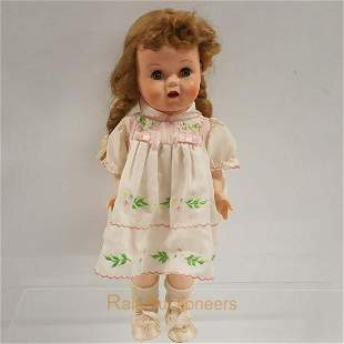 IDEAL Saucy Walker Doll with working Cryer