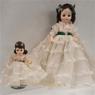 MADAME ALEXANDER Scarlett, Gone With The Wind Dolls
