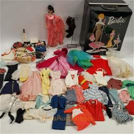 Ponytail BARBIE Doll, Case, Doll Clothes
