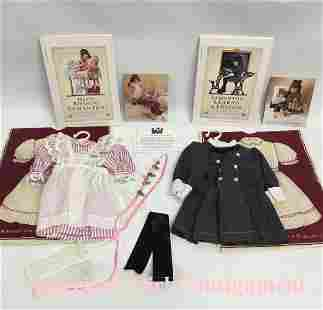 Lacy Pinafore and School Dress American Girl doll