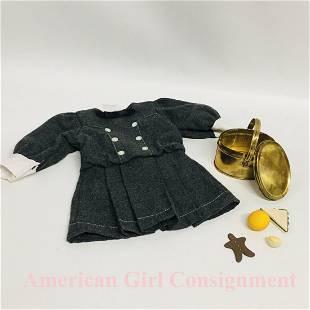American Girl Doll School Dress and Tea Tin Lunchbox