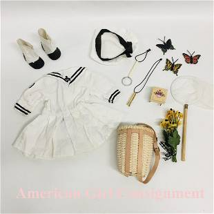 Middy Dress with Tam and Nature set American Girl Doll