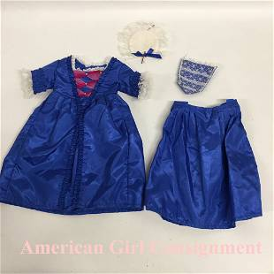 Felicity Christmas Gown American Girl Doll
