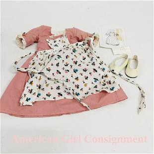 Felicity Spring Gown Pinner Apron American Girl Doll