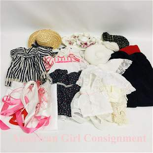Large collection of Clothes fits American Girl Doll