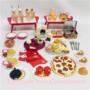 Huge Collection of American Girl Doll Food