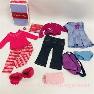 Fair Isle Pajamas, School outfit for American Girl Doll