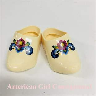 Kirsten Baking Outfit Wooden Shoes American Girl Doll