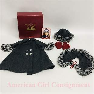 Nellie Holiday Coat with Box American Girl doll