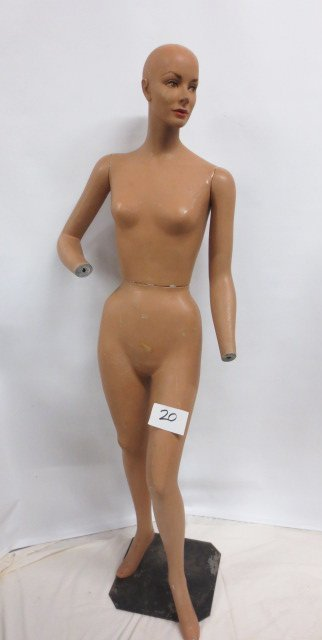 Vintage Store Display Mannequin #2