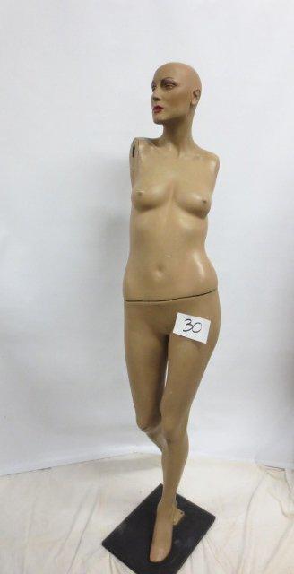 Vintage Store Display Mannequin #3