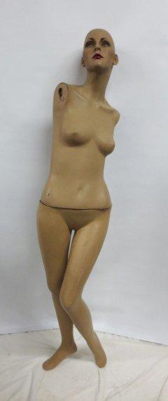 Vintage Store Display Mannequin #5