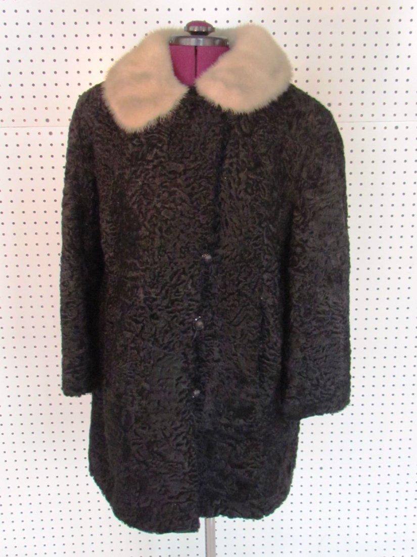Vintage Persian lamb wool jacket