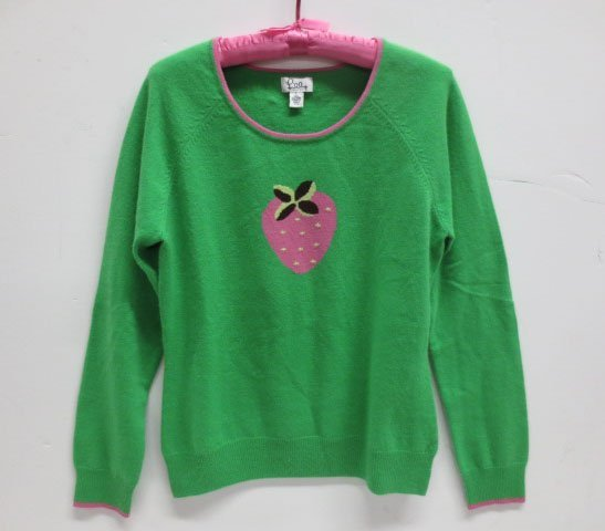Lilly Pulitzer Cashmere Strawberry Sweater