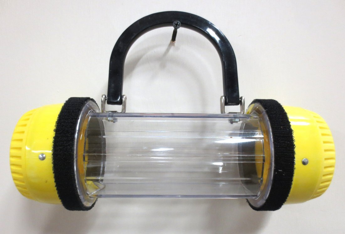 Pneumatic Tube Purse - Yellow/Clear