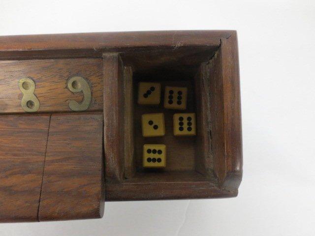 "Vintage Wood ""Shut the Box Game"" - 3"