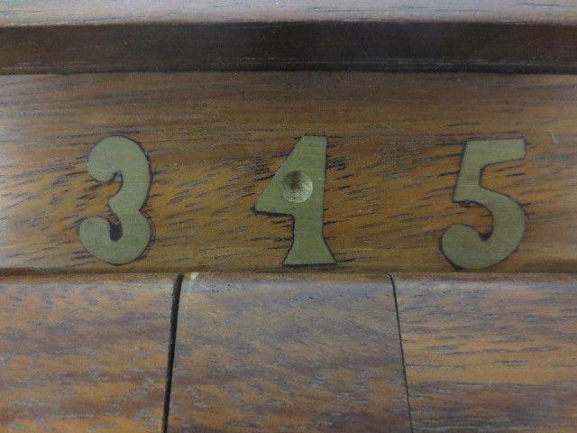 "Vintage Wood ""Shut the Box Game"" - 4"