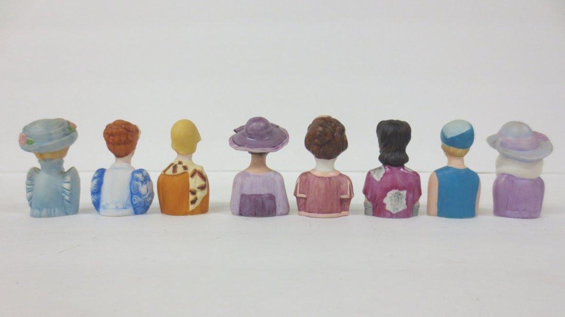 collection Avon thimble half dolls - 2