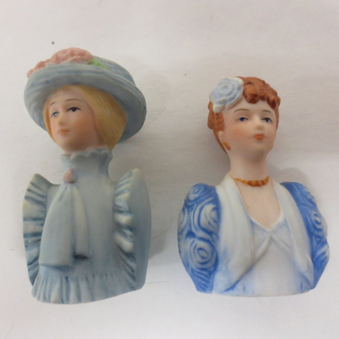 collection Avon thimble half dolls - 3