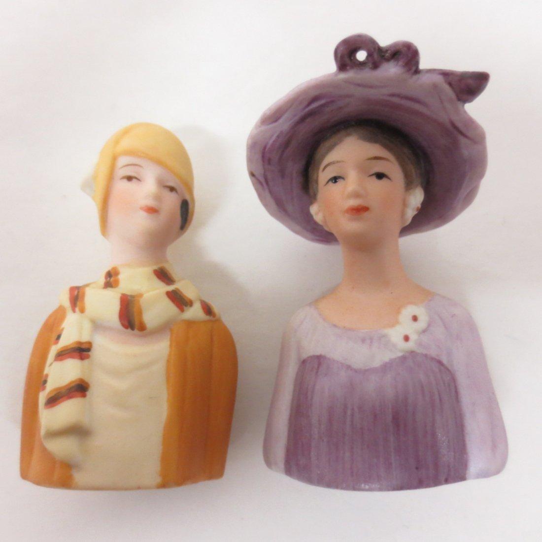 collection Avon thimble half dolls - 4