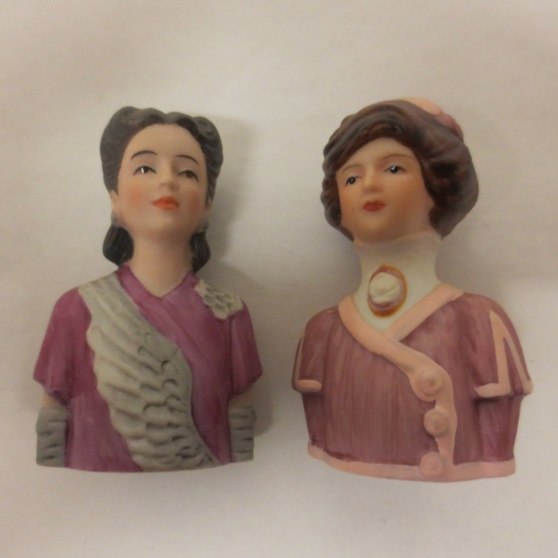 collection Avon thimble half dolls - 5