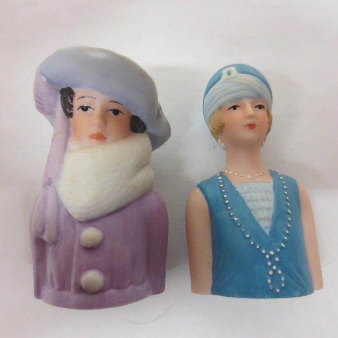 collection Avon thimble half dolls - 6