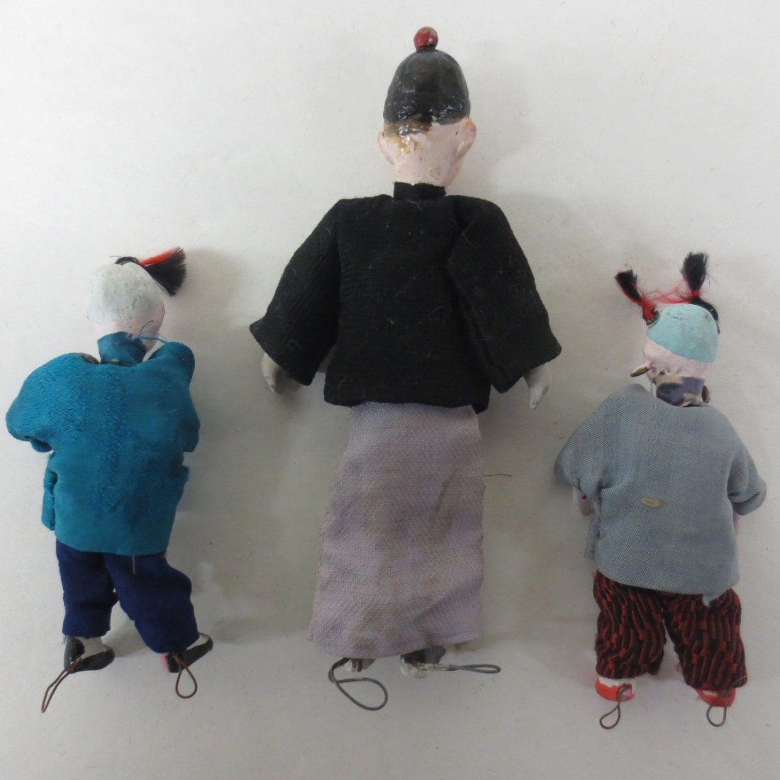 Three (3) Japanese dollhouse dolls - 2