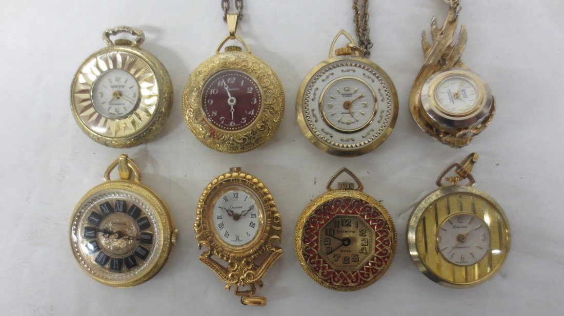 Pocket Watches, Lucerne, Genovit De Luxe, Navarre,
