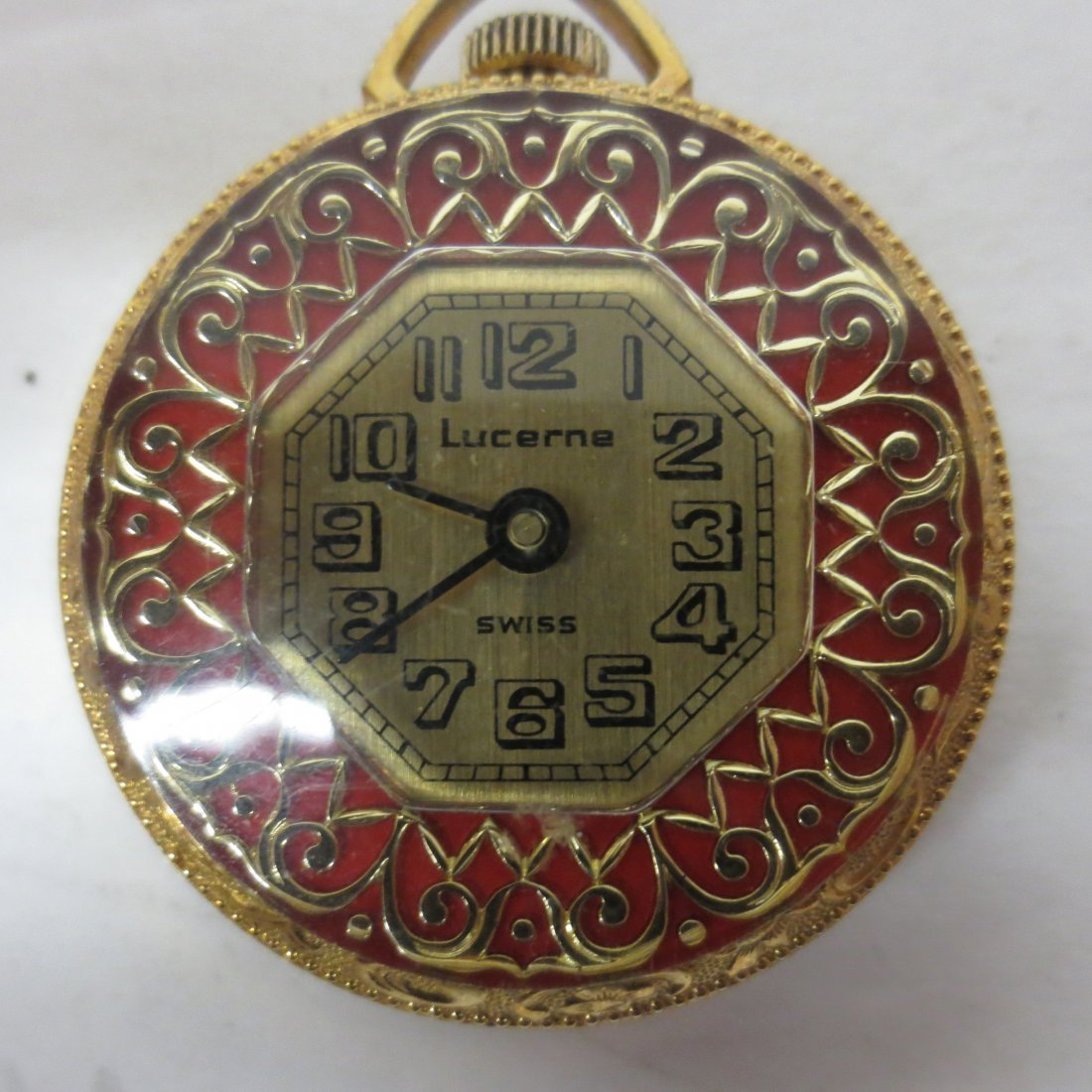 Pocket Watches, Lucerne, Genovit De Luxe, Navarre, - 4