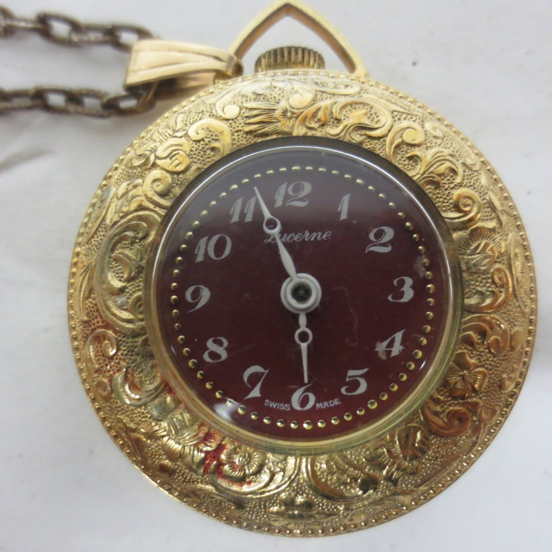 Pocket Watches, Lucerne, Genovit De Luxe, Navarre, - 7