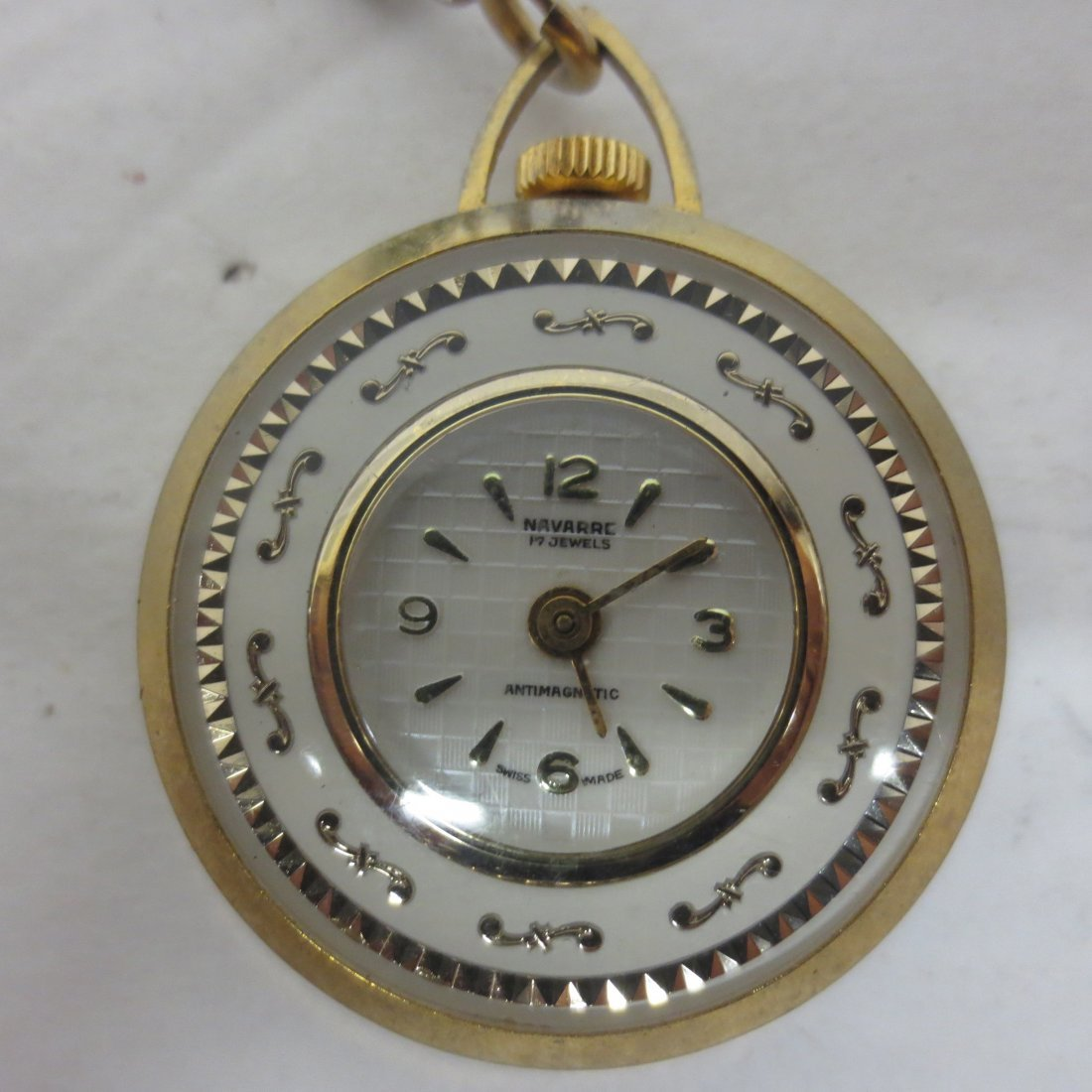 Pocket Watches, Lucerne, Genovit De Luxe, Navarre, - 9