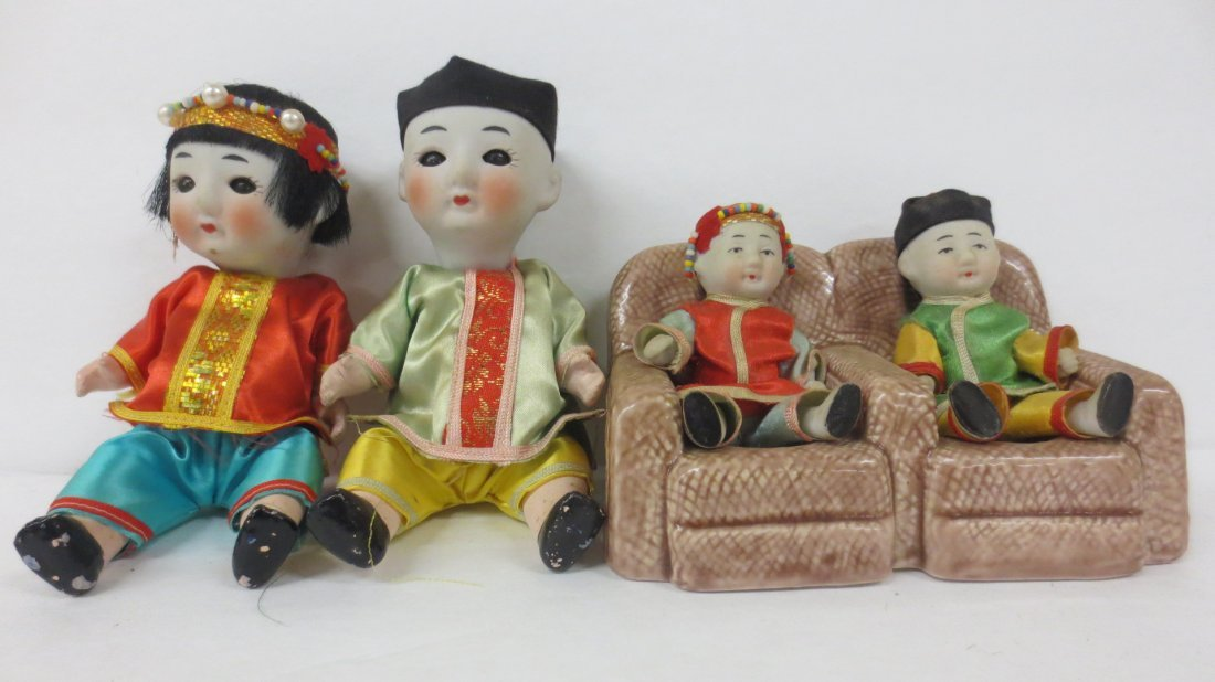 extensive Japanese doll collection - 5