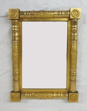 Classic American Federal Gilt Mirror
